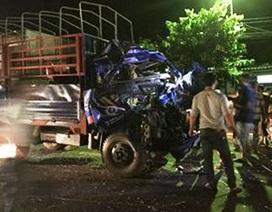Húc vào đuôi xe máy cày, tài xế xe tải tử vong
