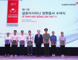 Tặng 100 suất học bổng toàn phần Kumho Asiana cho sinh viên Việt Nam