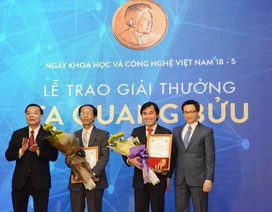 Bộ trưởng Phùng Xuân Nhạ gửi thư chúc mừng 2 nhà giáo đoạt Giải thưởng Tạ Quang Bửu