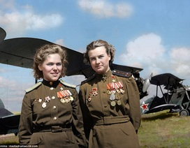 Vẻ đẹp của các nữ phi công Liên Xô trong Thế chiến 2
