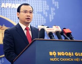 Phản ứng của Việt Nam về việc Trung Quốc xây kho chứa tên lửa