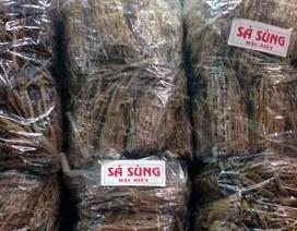 """""""Siêu"""" mỳ chính 5 triệu đồng/kg chất đống đầy chợ Đồng Xuân"""