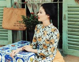 Hoa hậu Trần Thị Quỳnh hoá thành thiếu nữ Sài Gòn xưa