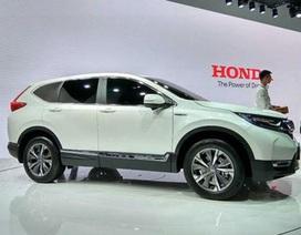 Honda CR-V có thêm bản hybrid