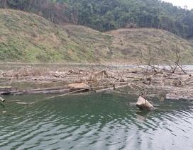 Nạo vét lòng hồ không triệt để, nguy cơ nguồn nước ô nhiễm nặng