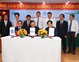 Vietcombank, HFIC và Sawaco ký thỏa thuận hợp tác phát triển hệ thống cấp nước sạch