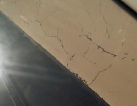 Dân lo lắng trước những vết nứt xuất hiện trong hầm Hải Vân?