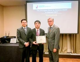 Vietcombank tiếp tục được The Asian Banker trao giải thưởng ngân hàng mạnh nhất Việt Nam