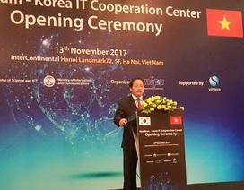 Hàn Quốc mở trung tâm hợp tác CNTT tại Việt Nam