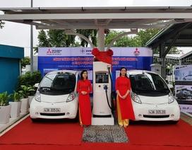 Đưa vào sử dụng trạm sạc điện nhanh cho ô tô đầu tiên tại Việt Nam