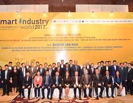 """Vietcombank đồng hành cùng Hội thảo và Triển lãm quốc tế """"Phát triển công nghiệp thông minh 2017"""""""