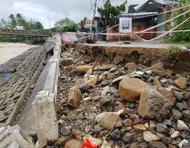 Kè sông Cái Nha Trang sạt lở hàng chục mét uy hiếp nhà dân