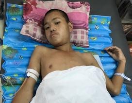 Cậu bé mồ côi Cử Mí Ná đã được phẫu thuật thành công