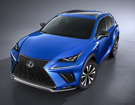 Lexus NX được nâng cấp nhẹ và đổi tên