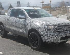 """""""Tóm gọn"""" Ford Ranger phiên bản mới trên đường chạy thử"""