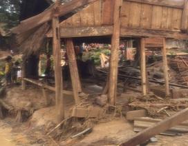 Bản làng xác xơ sau lũ quét, 10 ngôi nhà biến mất