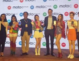 Motorola trình làng loạt smartphone mới, giá từ 1,9 triệu đồng