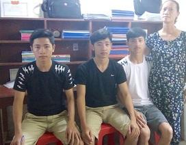 Cảm phục ba anh em sinh 3 đều đỗ vào Trường sĩ quan Thông tin