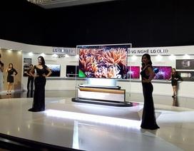 TV OLED siêu mỏng về VN với giá 650 triệu đồng