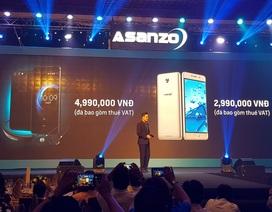 """Asanzo chính thức gia nhập """"cuộc chơi"""" smartphone tại Việt Nam"""