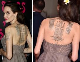 Ý nghĩa đằng sau những hình xăm bí ẩn của Angelina Jolie