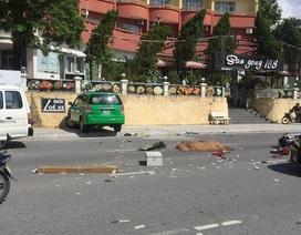 Hai taxi va chạm, một người đi xe máy tử vong