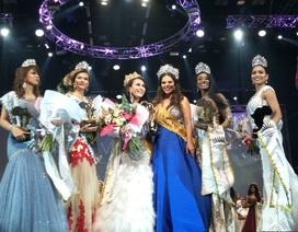 Người đẹp gốc Việt đăng quang Hoa hậu quý bà Hoàn vũ thế giới 2017