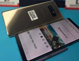 """Samsung khóa điện thoại Galaxy Note8 """"tuồn sớm"""" về Việt Nam"""