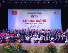 Giáo dục khai phóng là mục tiêu hoạt động của trường ĐH Việt Nhật