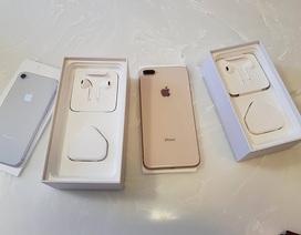 iPhone 8 và 8 Plus bất ngờ xuất hiện tại Việt Nam trước 2 ngày mở bán