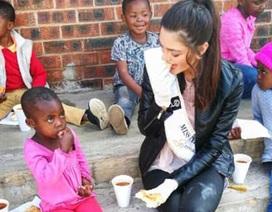 """Hoa hậu Nam Phi được thanh minh sau khi bị hiểu nhầm là """"vô cảm"""""""