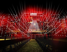 """Sân khấu """"Armin van Buuren by Vinaphone"""" không kém cạnh """"A State of Trance"""""""