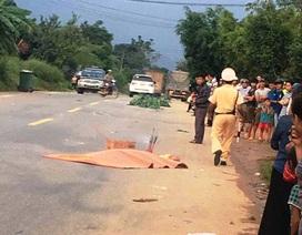 Băng qua đường, nam thanh niên bị xe khách cán tử vong
