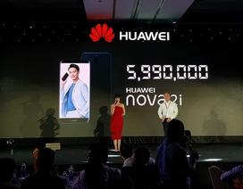 """Smartphone """"4 camera"""" Huawei Nova 2i chính thức ra mắt tại Việt Nam"""