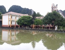 Nghệ An: Nhiều trường học ngập lụt, học sinh phải nghỉ học