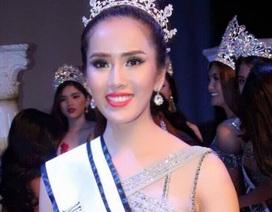 Bella Mai đăng quang Á hậu 1 Miss Tourism Universe 2017