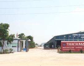 Bắc Giang: Vi phạm pháp luật về môi trường, Công ty TNHH Thạch Bàn nhận án phạt