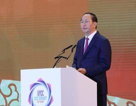 """Chủ tịch nước: """"Cộng đồng doanh nghiệp APEC cần chung tay giải quyết 3 vấn đề cấp bách"""""""