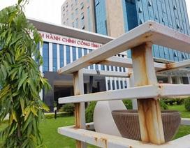 Đá ốp rơi quanh khu liên cơ quan tỉnh Bắc Giang: Chủ đầu tư giãi bày về sự lạ thường!