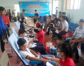 Bạc Liêu: Gần 1.000 sinh viên tham gia hiến máu tình nguyện
