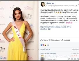 Người đẹp gốc Việt trở thành ứng viên sáng giá Hoa hậu Hoàn vũ?