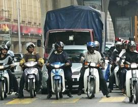 Malaysia mạnh tay xử lý xe máy độ