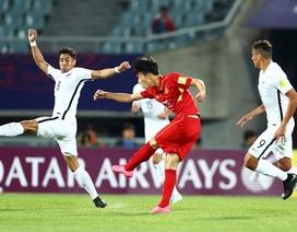 Tuyển thủ U20 Việt Nam muốn được… đá lại với U20 New Zealand