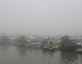 ĐBSCL: Sương mù giăng kín khắp nơi
