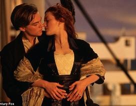 """Nụ hôn trong """"Titanic"""" vẫn là nụ hôn bất diệt của màn bạc"""