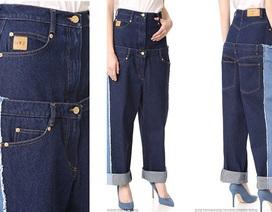 """Thiết kế quái dị, quần jeans """"kép"""" vẫn cháy hàng"""