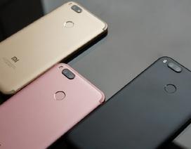 Xiaomi chính thức ra mắt Mi A1 camera kép, hợp tác cùng Google