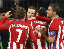 Leverkusen 2-4 Atletico: Griezmann, Torres ghi bàn