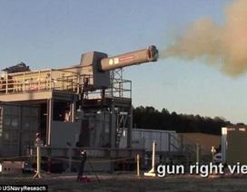 Hải quân Mỹ thử nghiệm súng điện từ bắn đạn bay 7.200km/h