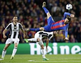 Hòa thất vọng Juventus, Barcelona chia tay Champions League